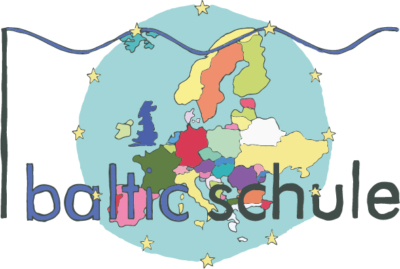 Europa-Logo der Baltic-Schule Lübeck